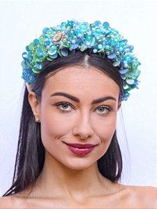 Tiara Pedrarias Queen Azul
