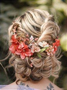 Arranjo de Cabelo Flores Ananda