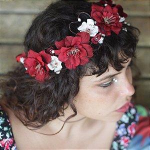 Tiara de Flores Gipsy