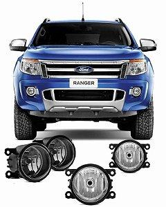 Kit Farol de Neblina/ Milha Ford Ranger 2012 - 2014