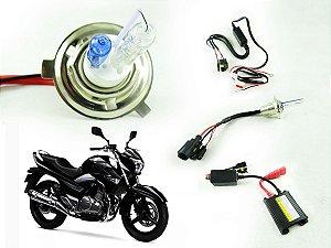 Kit Bixenon Bi Xenon Moto Slim Digital Hid H4 H6 6000k 8000k