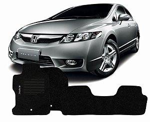 Tapete Carpete New Civic Personalizado