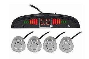 Kit Sensor de Ré e Estacionamento com display comum