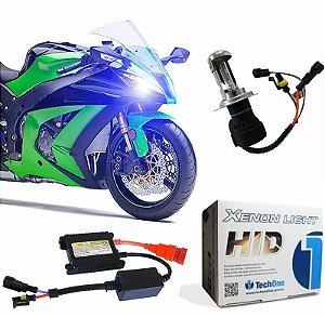 Kit Moto Bi-xenon H4-3 4300k 6000k 8000k 10000k