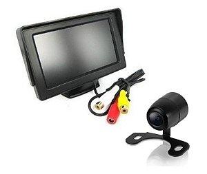 Tela LCD com Câmera de Ré
