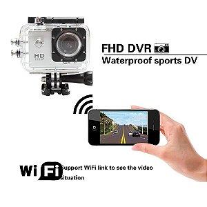 Camera Sj4000 S8 Com Wi-fi Filmadora Full Hd 12mp Tipo Gopro