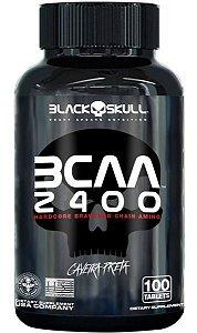 BCAA 2400 - Caveira Preta - BLACK SKULL