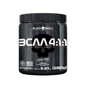 BCAA 4.1.1 - Caveira Preta (280g) - BLACK SKULL