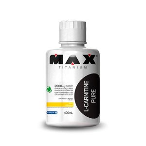 L-Carnitine Pure  (400ml) - MAX TITANIUM