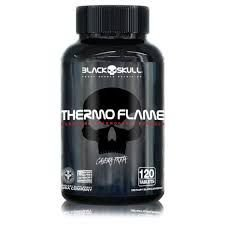 Thermo Flame - Caveira Preta - BLACK SKULL