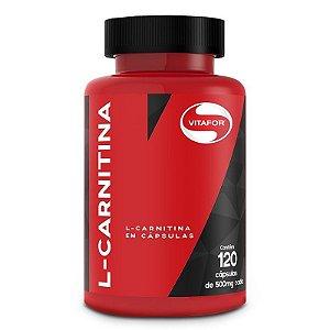 L-Carnitina - 120 Cápsulas - Vitafor