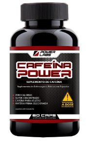 Cafeína Power - 60 Cápsulas - Power Labs
