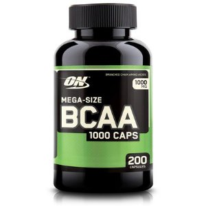 BCAA 1000 CAPS - 200 Cápsulas - Optimum Nutrition