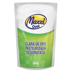 Clara de Ovo Pausteurizada Desidratada - 500g - Maxxi Ovos