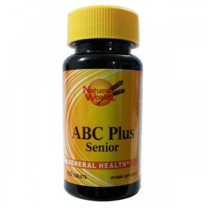 ABC Plus Senior - 60 Tablets -  Natural Wealth