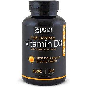 Vitamin D3 (5,000iu) - Frete Economico