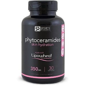 Phytoceramides 350mg 30 liquid softgels SPORTS Research FRETE GRÁTIS
