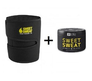 Sweet Sweat Gel 6.5oz + Cinta para as coxas  - Frete Economico