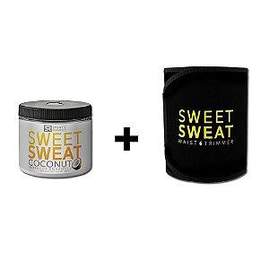 Sweet Sweat Coconut XL 383g + Cinta de Neoprene - Frete Econômico
