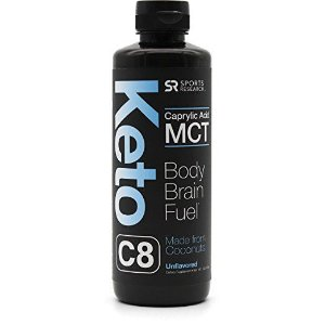 Keto C8 - Caprylic Acid C8 MCT Oil - Sports Research 454 ml