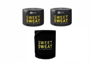2 Sweet Sweat Gel 185g + Cinta Neoprene - Pronta entrega