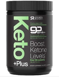 Keto Plus sabor Kiwi Strawberry 318g SPORTS Research
