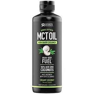Emulsified MCT Oil 473ml sabor: creamy coconut SPORTS Research
