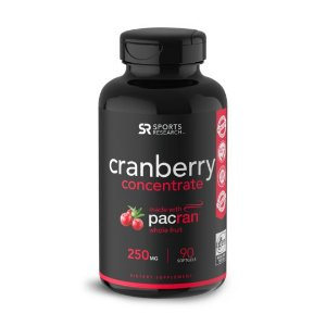 Cranberry 250mg 90s Sports Research FRETE GRÁTIS