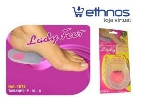 Calcanheira Feminina Lady Feet