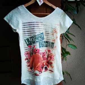 Camiseta feminina Dog trendy