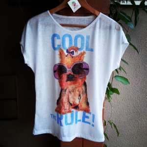 Camiseta feminina Cool the Rule!