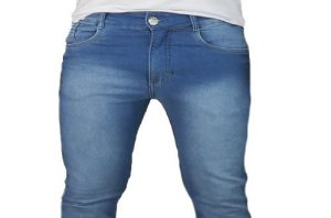 Calça Jeans Masculina Slim Modelo 1