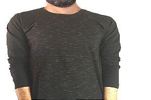 Camiseta Gola Raglan Masculina Modelo 4 Manga Longa