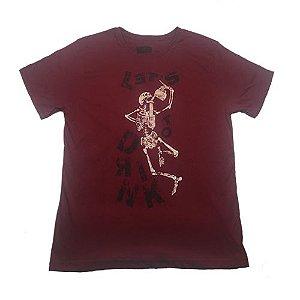 Camiseta Gola Básica Estampada - Modelo 49