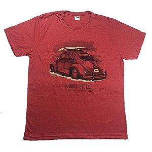 Camiseta Gola Básica Estampada - Modelo 55