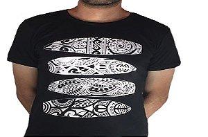 Camiseta Gola Básica Estampada - Modelo 41