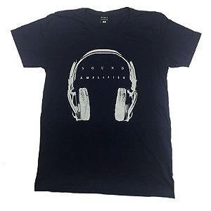 Camiseta Gola Básica Estampada - Modelo 45