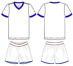 kit camisa/calção