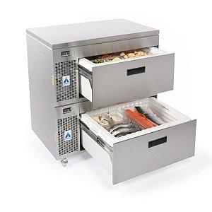 Gaveta Refrigerada - Gaveta Freezer Dupla Ação