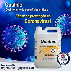 Desinfetante eficaz na prevenção ao Coronavírus