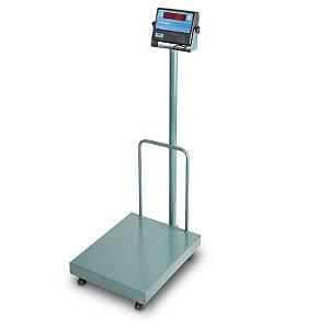 Balança Plataforma Eletrônica Micheletti c/ coluna - Modelo MIC300