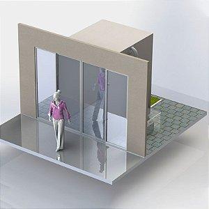 Túnel de passagem para esterilização Cavitacao EPS / Sterilizer Tunnel EPS