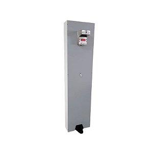 Totem 2 em 1 – Termômetro Automático e Álcool Gel