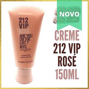 Creme Hidratante Importado 212 VIP ROSÉ 150ml | Feminino