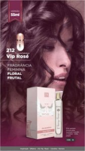 03 INSPIRAÇÃO TK - 212 VIP ROSÉ 55ML
