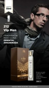 13 INSPIRAÇÃO TK - 212 VIP MEN 55 ML