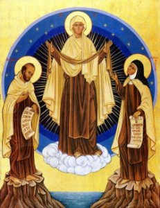 Nossa Senhora do Carmo / do Monte Carmelo - Mãe da Divina Graça