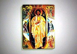 Ícone Cristo Ressuscitado Shalom