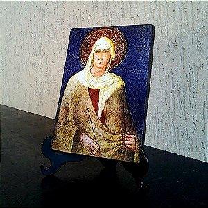 Ícone Santa Clara de Assis