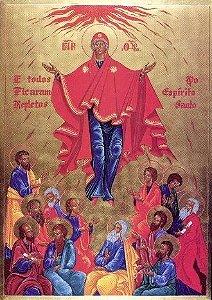 Ícone Nossa Senhora de Pentecostes